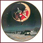 Greetings From Santa Collector Plate by Ernie Norcia