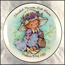 Cherished Moments Last Forever Collector Plate