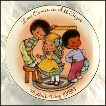 Love Comes In All Sizes Collector Plate