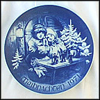 Toys For Sale Collector Plate by Hans Mueller