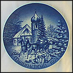 Church In Black Forest Collector Plate by Hans Mueller