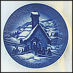 Chapel In The Hills Collector Plate by Hans Mueller