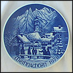 Mittenwald Collector Plate by Hans Mueller