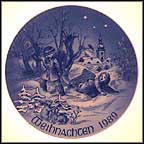 Sleigh Ride Collector Plate by Hans Mueller
