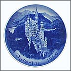 Castle Neuschwanstein Collector Plate by Hans Mueller