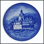 Castle Pfaltz Collector Plate by Hans Mueller