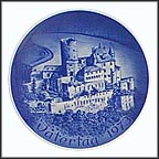 Castle Katz Collector Plate by Hans Mueller