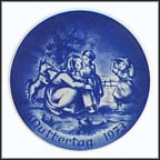Mother And Children Collector Plate by Ludwig Ricter