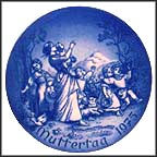 Spring Outing Collector Plate by Ludwig Ricter