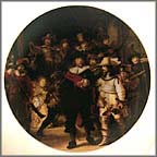 The Nightwatch Collector Plate by Rembrandt
