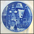 Christmas In Rothenburg On Tauber Collector Plate