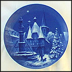 Christmas In Michelstadt Collector Plate