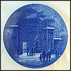 Christmas In Augsburg Collector Plate