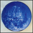 Christmas Market At The Dome Of Berlin Collector Plate