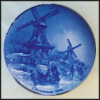 Christmas Eve In Greetsiel Collector Plate by Detlef Nitschke
