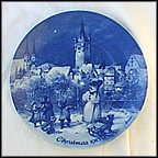 Christmas Eve In Bad Wimpfen Collector Plate