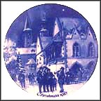 Christmas Eve In Goslar  Collector Plate