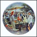 Saturday Collector Plate by Detlev Nitschke