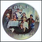 Sunday Collector Plate by Detlev Nitschke