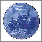 Washington Crossing The Delaware Collector Plate