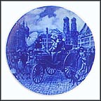 Benz Motor Car In Munich 1888 Collector Plate