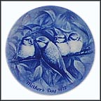Fledglings Collector Plate