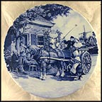 Horse And Carriage Collector Plate
