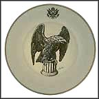 American Bald Eagle Collector Plate by Edward Marshall Boehm MAIN