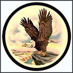 Bald Eagle - Reagan / Bush Collector Plate by Edward Marshall Boehm MAIN