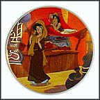 Aladdin In Love Collector Plate by Disney Studio Artists