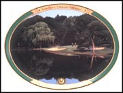 A Putt On The 3rd (Medinah) Collector Plate by Danny Day MAIN