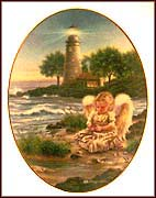 A Little Joy Lights Your World Collector Plate by Dona Gelsinger MAIN