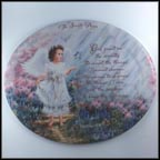Serenity Garden Collector Plate by Dona Gelsinger