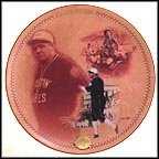 Barnstorming Days Collector Plate by Phil Heffernan