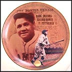 The Final Home Run Collector Plate by Phil Heffernan MAIN
