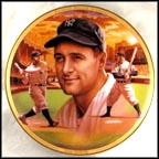 Lou Gehrig Collector Plate by Jason Walker