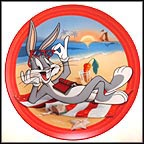 Beach Blanket Bugs Collector Plate by Warner Brothers Classic Animation MAIN
