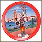 California Bugs Collector Plate by Warner Brothers Classic Animation MAIN