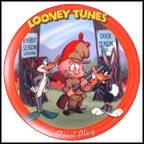Fowl Play Collector Plate by Warner Brothers Classic Animation MAIN