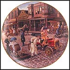 Main Street Splendor Collector Plate by Lee Dubin