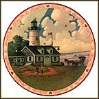 Jayson Sparkin' The Lighthouse Keeper's Daughter Collector Plate by Charles Wysocki