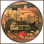 Liberty Star Farms Collector Plate by Charles Wysocki