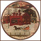 The Overflow Antique Market Collector Plate by Charles Wysocki