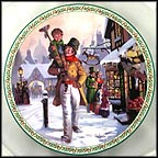 God Bless Us Every One Collector Plate by Lloyd Garrison