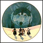 The Pathfinders Collector Plate by Gale Running Wolf