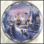 The Village Confectionary Collector Plate by Renee McGinnis