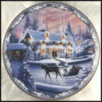 The Village Inn Collector Plate by Renee McGinnis