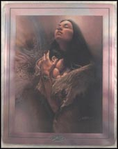 Eternal Blessing Collector Plate by Lee Bogle