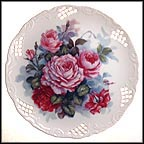 Magic In Mauve Collector Plate by Lyn Moser