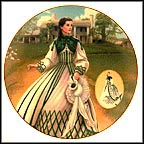 The Country Walking Dress Collector Plate by Douglas C. Klauba